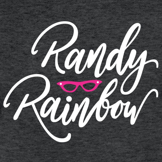 RANDY RAINBOW LOGO V NECK MEN