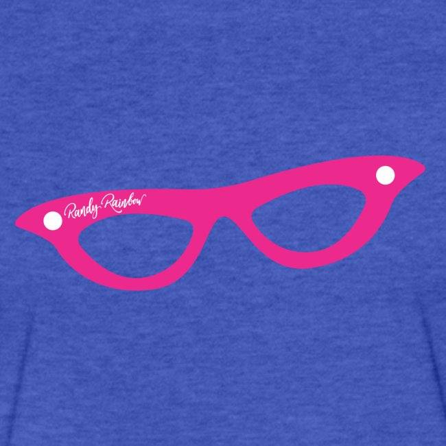 PINK GLASSES FITTED T MEN