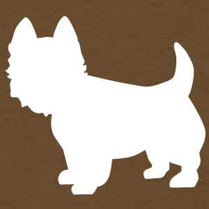 Westie dog T-Shirts - Men's T-Shirt