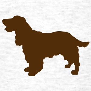 Cocker Spaniel dog T-Shirts - Men's T-Shirt