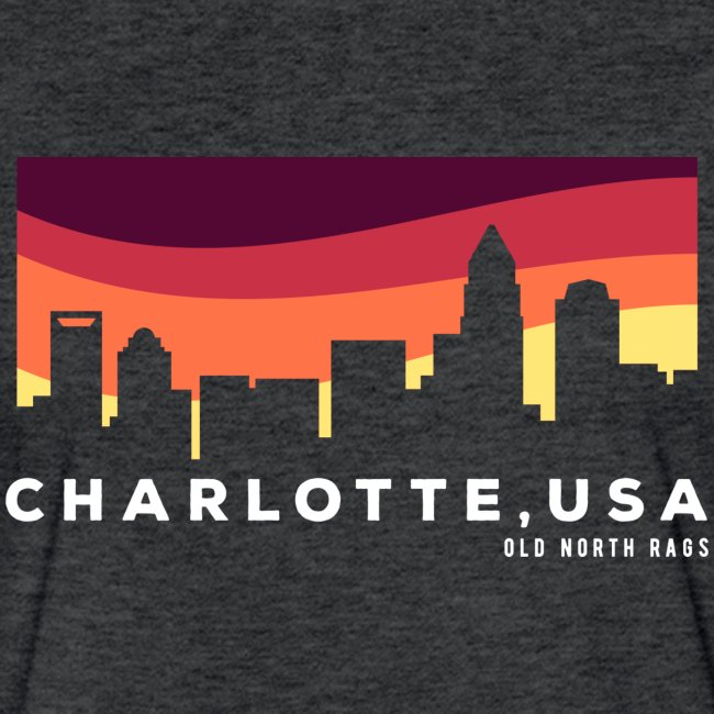 Charlotte USA Skyline