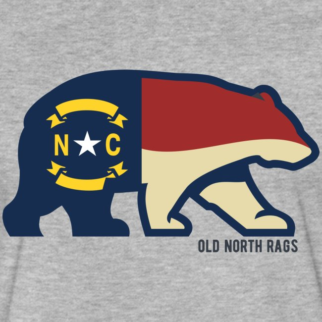 NC Bear Flag T-Shirt