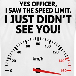 Speed Limit 1 (2c)++2012 T-Shirts - Men's T-Shirt by American Apparel