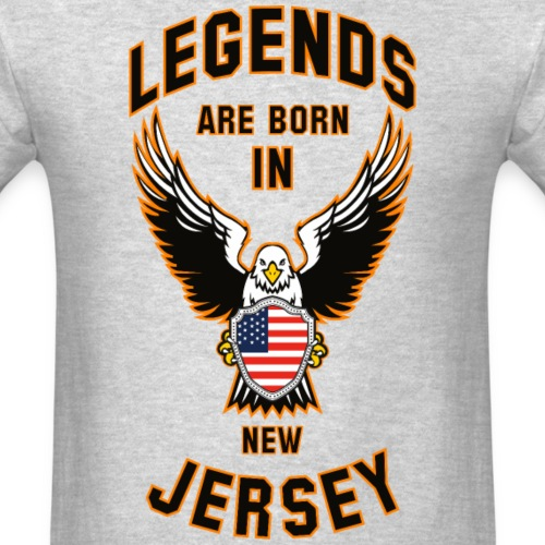 Legends are born in New Jersey