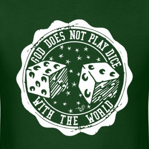 Celestial College Dice by Tai's Tees - Men's T-Shirt