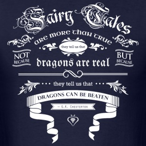 Fairy Tales WHITE T-Shirts - Men's T-Shirt