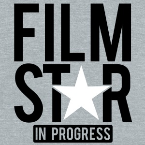 Film Star in progress T-Shirts - Unisex Tri-Blend T-Shirt by American Apparel