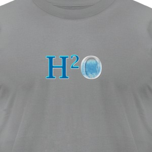 h2o T-Shirts - Men's T-Shirt by American Apparel