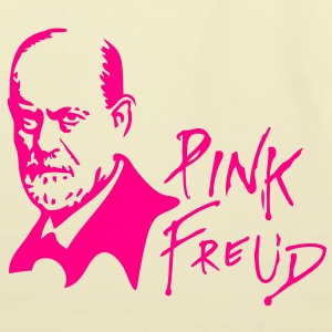 PINK FREUD High Quality Printing for Clear Colors Bags & backpacks - Eco-Friendly Cotton Tote