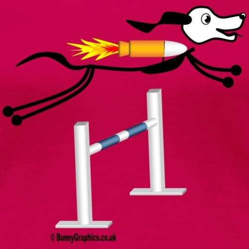 Agility stick dogs jump