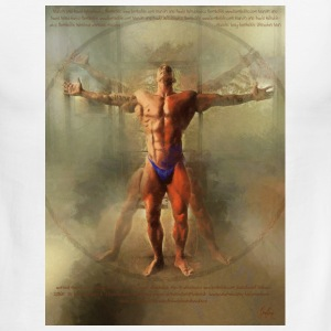 Vitruvian Man - Men's Ringer T-Shirt