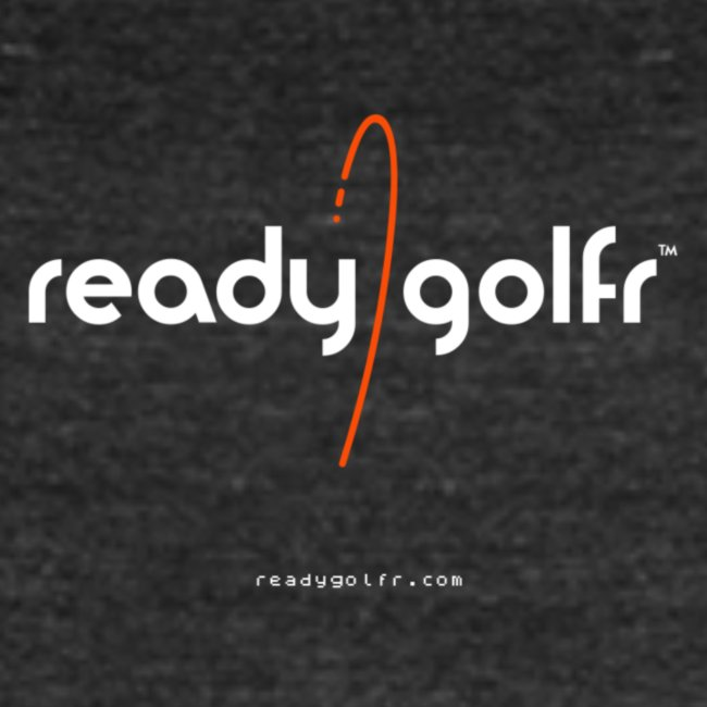 """ReadyGolfr Distressed """"Infographic"""" tee Amer. Apparel"""