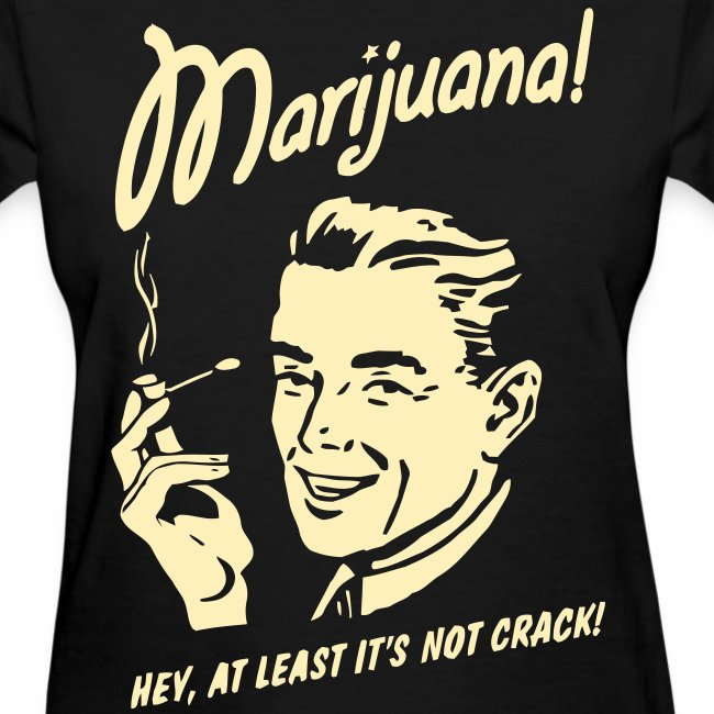 """MARIJUANA"" T-Shirt Women"