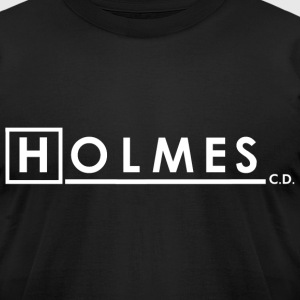 SHERLOCK HOLMES, CONSULTING DETECTIVE - Men's T-Shirt by American Apparel
