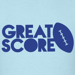 great score! Rugby AFL long ball T-Shirts - Men's T-Shirt