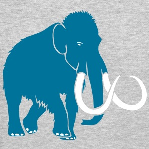 animal t-shirt mammoth ice age cave hunter tusk Long Sleeve Shirts - Crewneck Sweatshirt