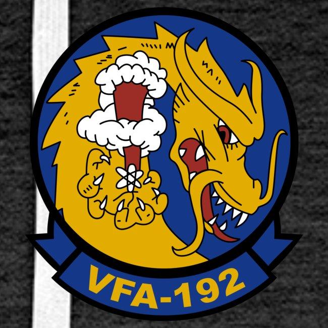 VFA-192 w/ USS CARL VINSON 2018 CRUISE HOODIE