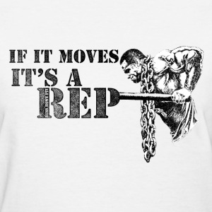 It's A Rep - Women's Tee - Women's T-Shirt