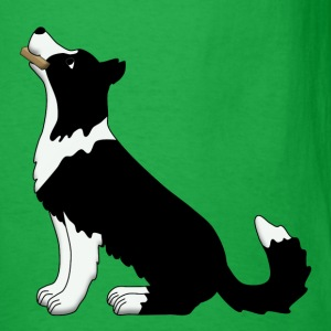 obedience border collie T-Shirts - Men's T-Shirt