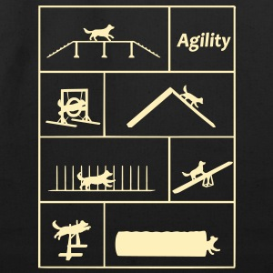 Agility obstacles Bags  - Eco-Friendly Cotton Tote