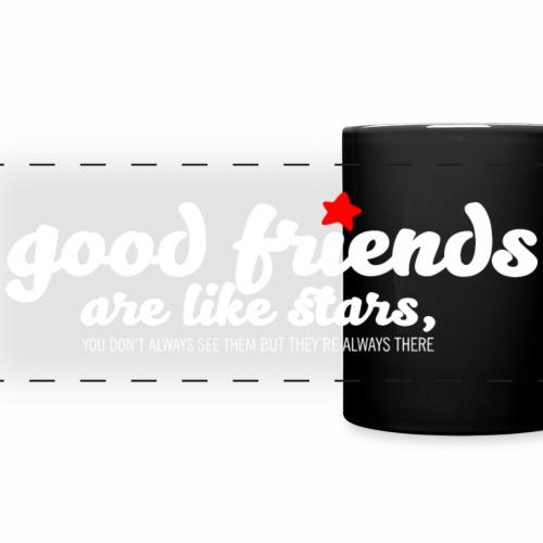 Good friends are like stars (dark)