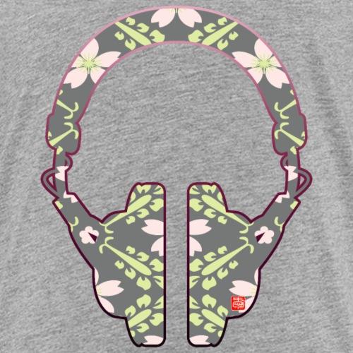 ヘッドフォンと桜B