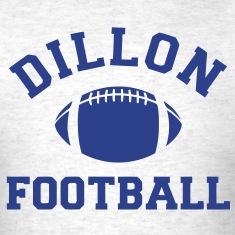 Dillon Panthers Football - Tee - Ash