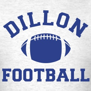 Dillon Panthers Football - Tee - Ash - Men's T-Shirt