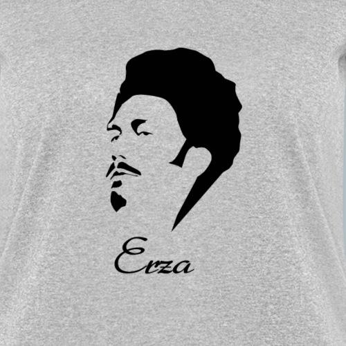 Ezra Pound Hirsute Silhouette Writer Poet Tshirt