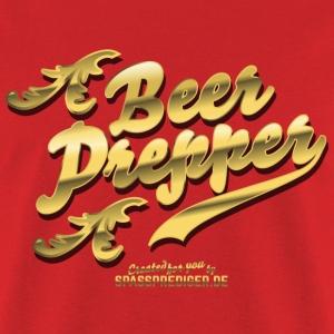 "Gift idea: Funny beer shirt ""Beer Prepper"""