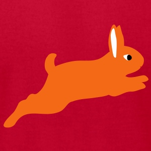 rabbit jumps T-Shirts - Men's T-Shirt by American Apparel