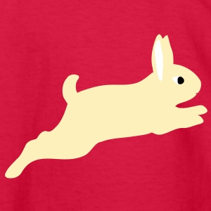 rabbit jumps Kids' Shirts - Kids' Long Sleeve T-Shirt