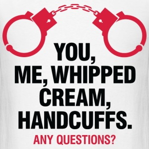Whipped Cream And Handcuffs 2 (dd)++2012 T-Shirts - Men's T-Shirt