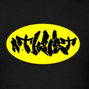 ATHEIST GRAFFITI (manbat) by Tai's Tees - Men's T-Shirt