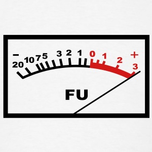 VU FU Audio Meter T-Shirts - Men's T-Shirt