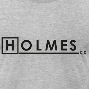 HOLMES, CONSULTING DETECTIVE - Men's T-Shirt by American Apparel
