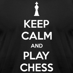 Keep Calm and Play Chess Men's T-shirt