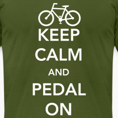 Keep Calm and Pedal On T-Shirts