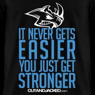 Design ~ Stronger | CutAndJacked | Mens Tee