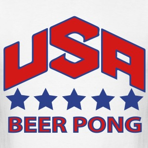 USA Beer Pong Team - Men's T-Shirt