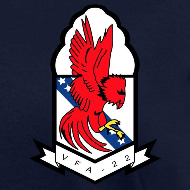 VFA-22 w/ USS THEODORE ROOSEVELT 2017-18 WOMENS CRUISE SHIRT - FAMILY