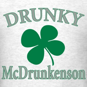 Drunky McDrunkerson - Men's T-Shirt