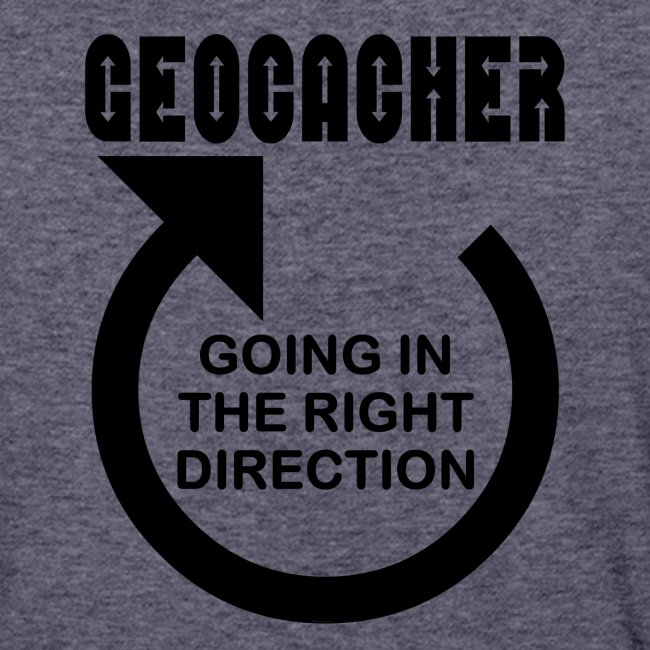Geocacher Right Direction