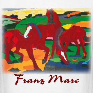 Marc - Red Horses - Men's T-Shirt