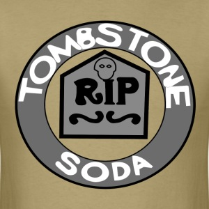 Tombstone Soda (Gray) - Men's T-Shirt