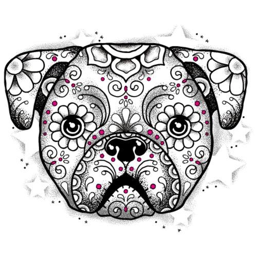 Puppy Sugar Skull
