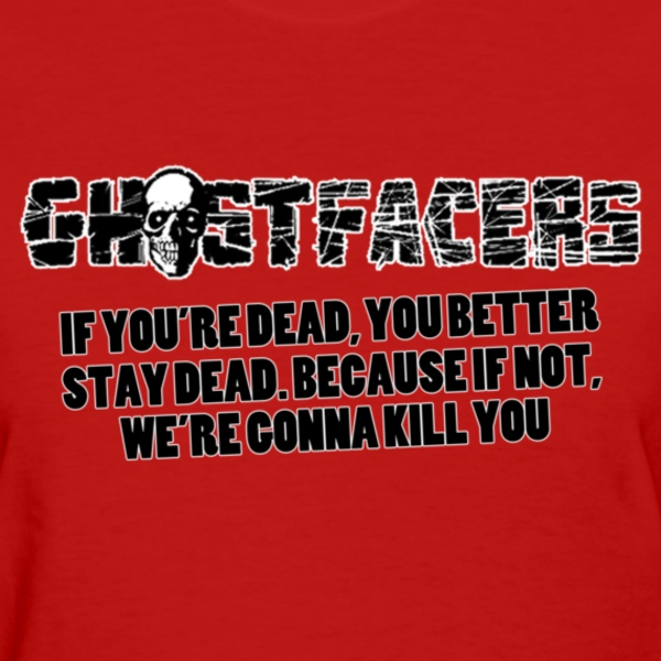 Women's Ghostfacers Tee - Women's T-Shirt