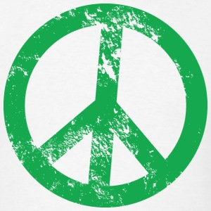 Peace Sign T-Shirts - Men's T-Shirt