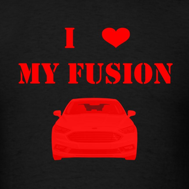 Men S I Love My Fusion 2 5 T Shirt