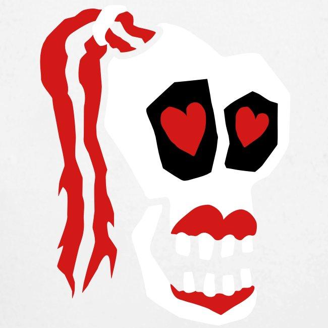 Skull Girl LOVE One Piece